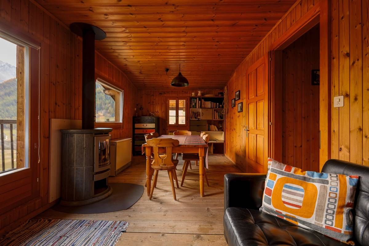 Chalet Bellevue 2ème étage - appartement de vacances - salle à manger et séjour